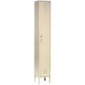 Capital™ Locker Single Tier 12x15x72 1 Door Ready To Assemble Tan