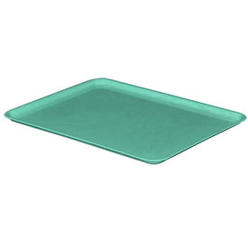 "Molded Fiberglass Nesting Tote 930118 Lid for 930108 Tote - 12-3/8""L x 9-3/4""W, Green"