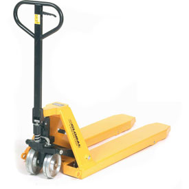High-Capacity Pallet Jack Truck 11,000 Lb. Capacity 23 x 45-1/2 Forks