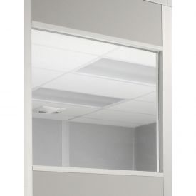 Window For 4 Ft Panel 1/4 Inch Clear Tempered Safety Glass