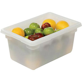 Rubbermaid 3504-00 White Plastic Box 5 Gallon 18 x 12 x 9