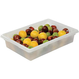 Rubbermaid 3508-00 White Plastic Box 8 1/2 Gallon 18 x 26 x 6 - Pkg Qty 6