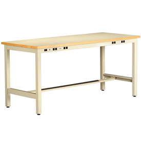 ESD Electronic Workbench 30inch High 96x30 Sand