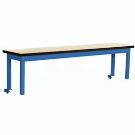 Riser With Out Power Center Plastic Top 60inch Long Blue