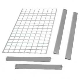 "Bulk Rack Shelf Wire Deck 60""W x 36""D Gray"
