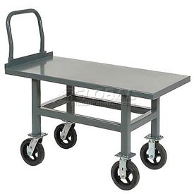 Jamco Work Height Platform Truck AS248 Steel Deck Adjustable Height 24x48