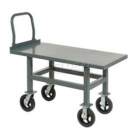 Jamco Work Height Platform Truck AS360 Steel Deck Adjustable Height 60x30