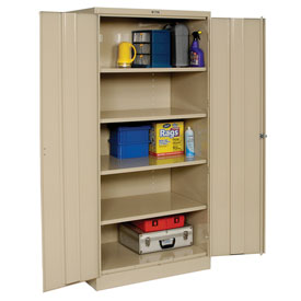 Tennsco Industrial Storage Cabinet 2470 214 - 36x24x78 Sand