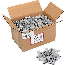 "5/8"" W Serrated Seals Carton Of 1000"