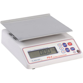 "Tor Rey PS-5 Digital Portion Scale 10lb x 0.01lb 8"" x 7"" Stainless Steel Platform"