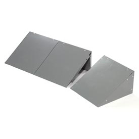 Global™ Locker Slope Top Kit 12x15 Gray