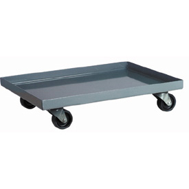 "Akro-Mils Steel Dolly RU843HR1420 For Attached Lid Containers - 19-7/8""L x 14-1/4""W x 5-1/8""H"