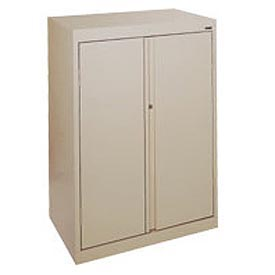 Sandusky System Series Storage Cabinet HA3F361864 Double Door - 36x18x64, Sand