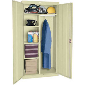Sandusky Classic Series Combination Storage Cabinet CAC1362472 - 36x24x72, Putty