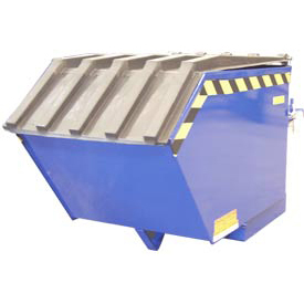 Plastic Lid PLID-H-50 for Vestil 1/2 Cubic Yard Low-Profile Self-Dumping Hopper