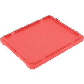LEWISBins Lid CSN2414 For Stack-N-Nest Container SN2414-8, Red - Pkg Qty 5