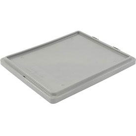LEWISBins Lid CSN2420 For Stack-N-Nest Container SN2420-13, Gray - Pkg Qty 5
