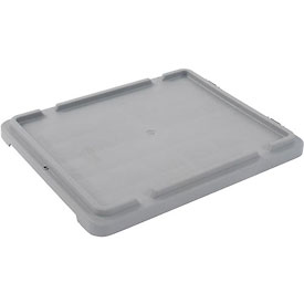 LEWISBins Lid CSN2618 For Stack-N-Nest Container SN2618-10, Gray - Pkg Qty 10