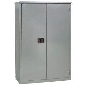 "Jamco Fire Resistant Cabinet BX55-GP, All Welded 34""W x 34""D x 65""H Gray"