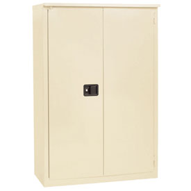 "Jamco Fire Resistant Cabinet BX43-AP, All Welded 34""W x 34""D x 65""H Putty"
