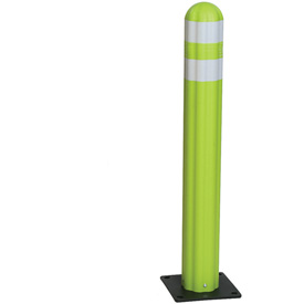 "Eagle Poly Guide Post Delineator 42"" x 5.75"" Dia. Lime, 1734-LM"