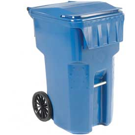 Otto Mobile Trash Container - 95 Gallon Blue