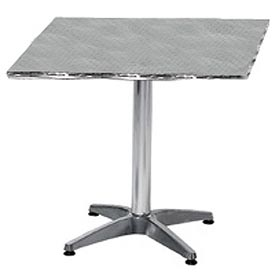 Square 32x32 Stainless Steel Table