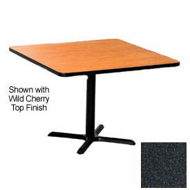Premier Hospitality Square Restaurant Table - 36x36 - Graphite