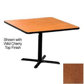 Square 42x42 Laminate Top Table Wild Cherry