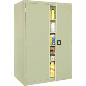 Sandusky Elite Series Storage Cabinet EA4R462478 - 46x24x78, Putty