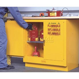 Flammable Liquid Cabinet Manual Double Door Vertical Storage