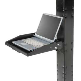 Locking Laptop Tray - Black