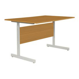 "Computer Desk/Table 36""x24"" with 26"" to 28"" Height Adjustability - Oak"