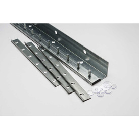 TMI Save-T Loc™ 3' L Deluxe Strip Curtain Door Mounting Bracket Kit