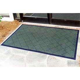 "Outdoor Scraper Entrance Mat 1/4"" Thick 36"" X 60"" Green"