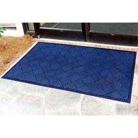 "Outdoor Scraper Entrance Mat 1/4"" Thick 48"" X 72"" Blue"