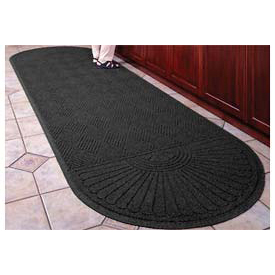 "Waterhog Grand Classic Mat Two Oval 3'W X 7'1""L Charcoal"