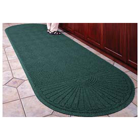 "Waterhog Grand Classic Mat Two Oval 3'W X 11'8""L Green"