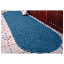 "Waterhog Grand Classic Mat Two Oval 6'W X 14'10""L Navy"