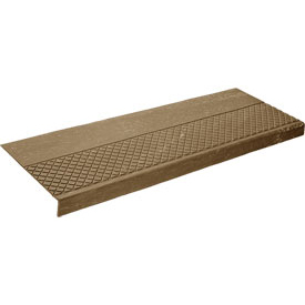 "Rubber Tread Diamond Pattern 48""W Walnut - Pkg Qty 3"