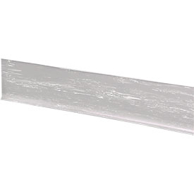 "Rubber Riser Stair Cover 48""W Light Gray"