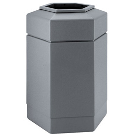 Waste Receptacle - 30 Gallon Gray