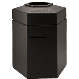 Waste Receptacle - 45 Gallon Charcoal