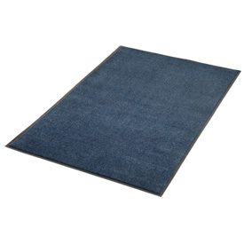 Plush Super Absorbent Mat 6'W Cut Length Up To 60ft. Blue