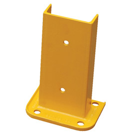 "Steel Rack Guard 7.5""Wx3.75""Dx12""H"