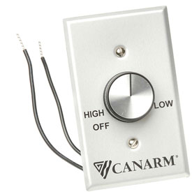 Canarm MC-3, Variable Speed Switch Control, 2 Fans-Forward