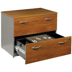 Lateral File In Natural Cherry - Office Furniture Groupings