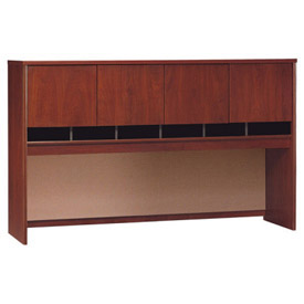 "Bush Furniture Hutch - 72"" - Hansen Cherry - Series C"