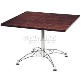 "OFM 36"" Lunchroom Table - Square - Mahogany"