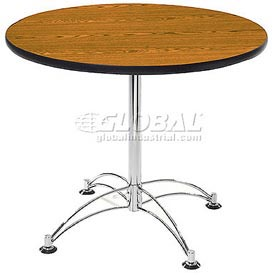 "42"" Lunchroom Table Round Cherry"